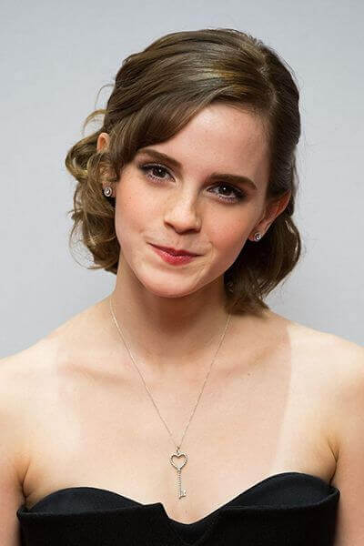 Emma Watson Amazing Wedding Hairstyle